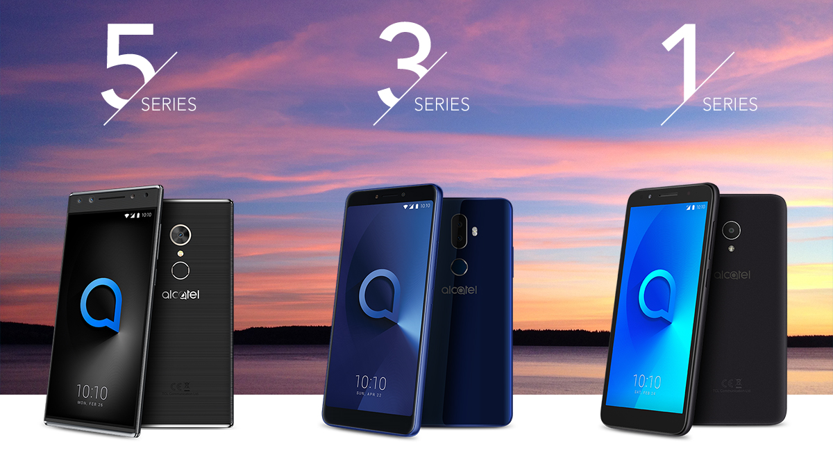 Alcatel just announced five new phones at MWC 2018