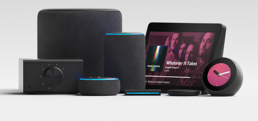 amazon launches echo auto alongside refreshed echo plus. Black Bedroom Furniture Sets. Home Design Ideas
