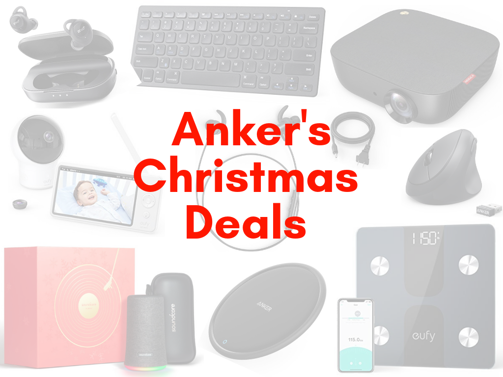 Deal] Check out these Christmas deals from Anker