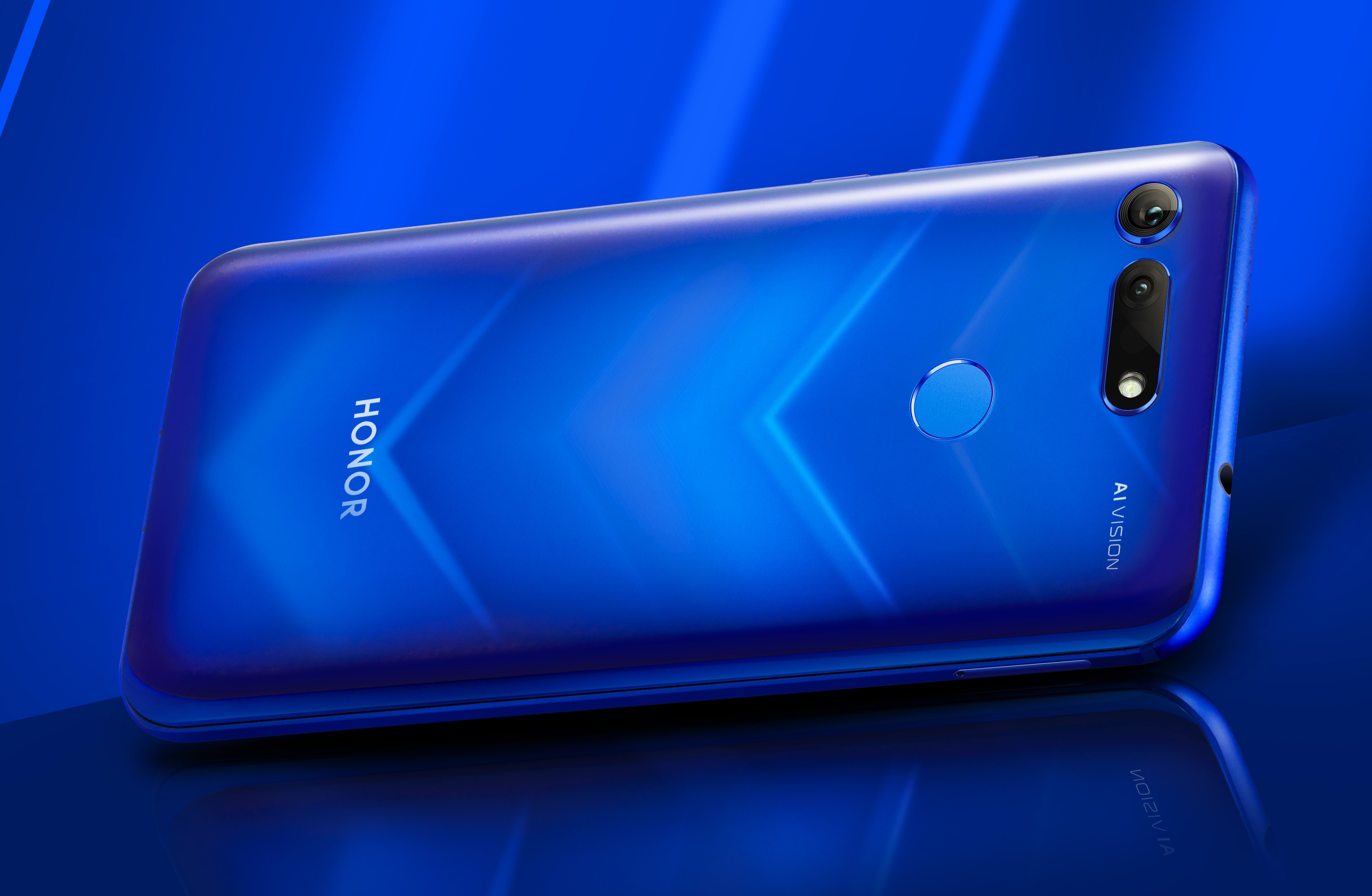 The Honor View 20 is official with a 6.4-inch 'punch-hole' display and the world's first 48MP rear camera