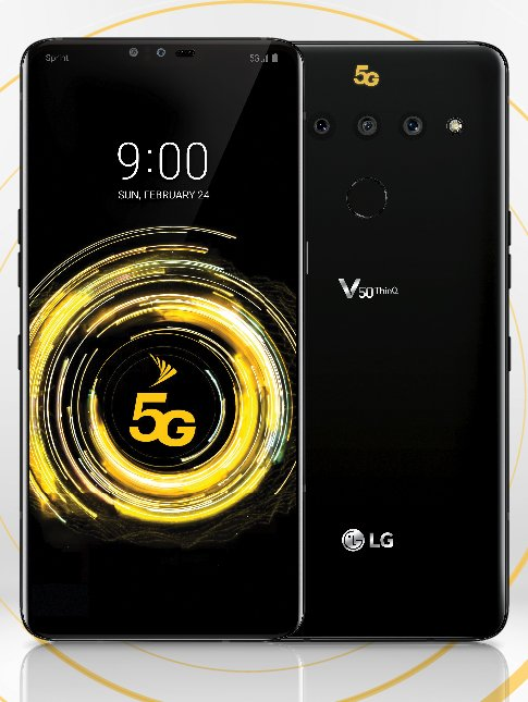 Sprint will be the first carrier to sell LG's V50 ThinQ 5G