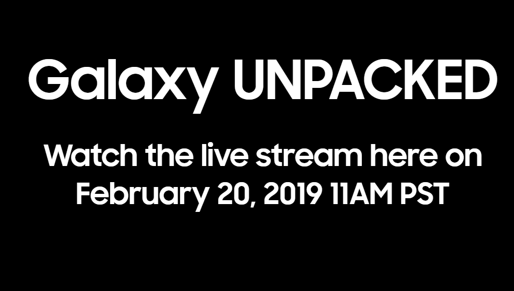 Samsung Galaxy S10 launch: When and where to catch the Unpacked live stream