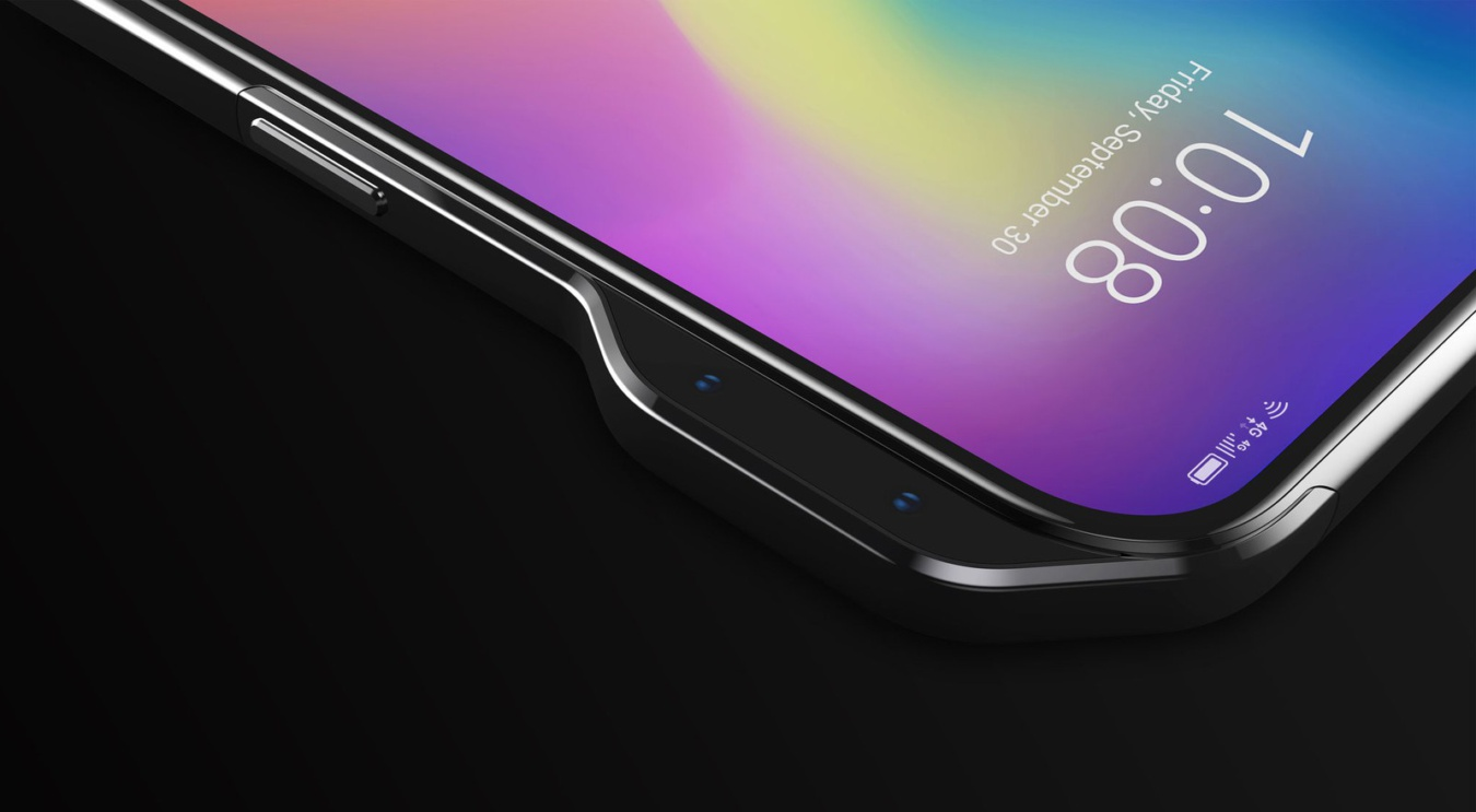 ZTE's solution to the notch is to put cameras on the side of phones