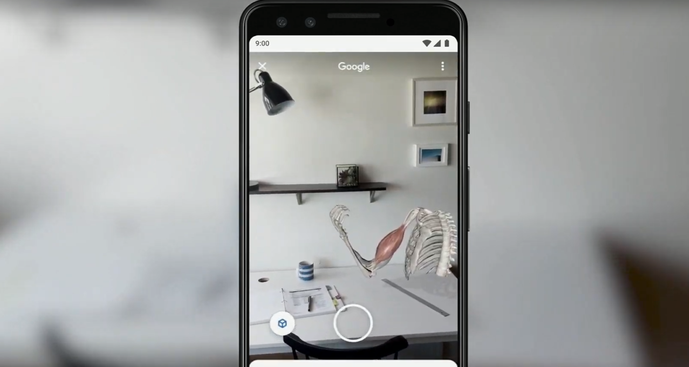Augmented reality is Google's first I/O 2019 announcement, bringing improvements to Search and Lens