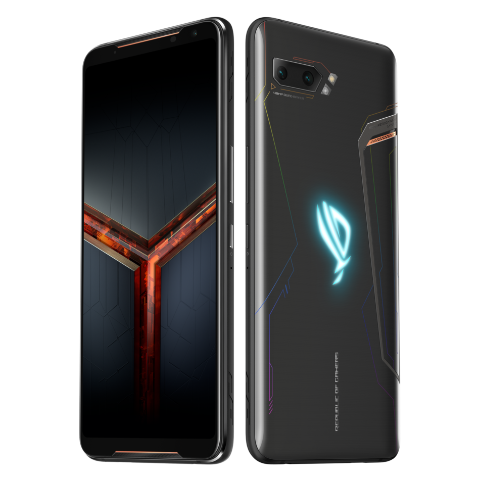 Download the ASUS ROG Phone II's wallpapers here