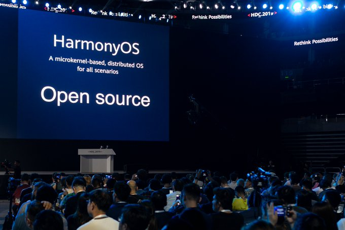 Huawei announces open-source Harmony OS, in case they need it