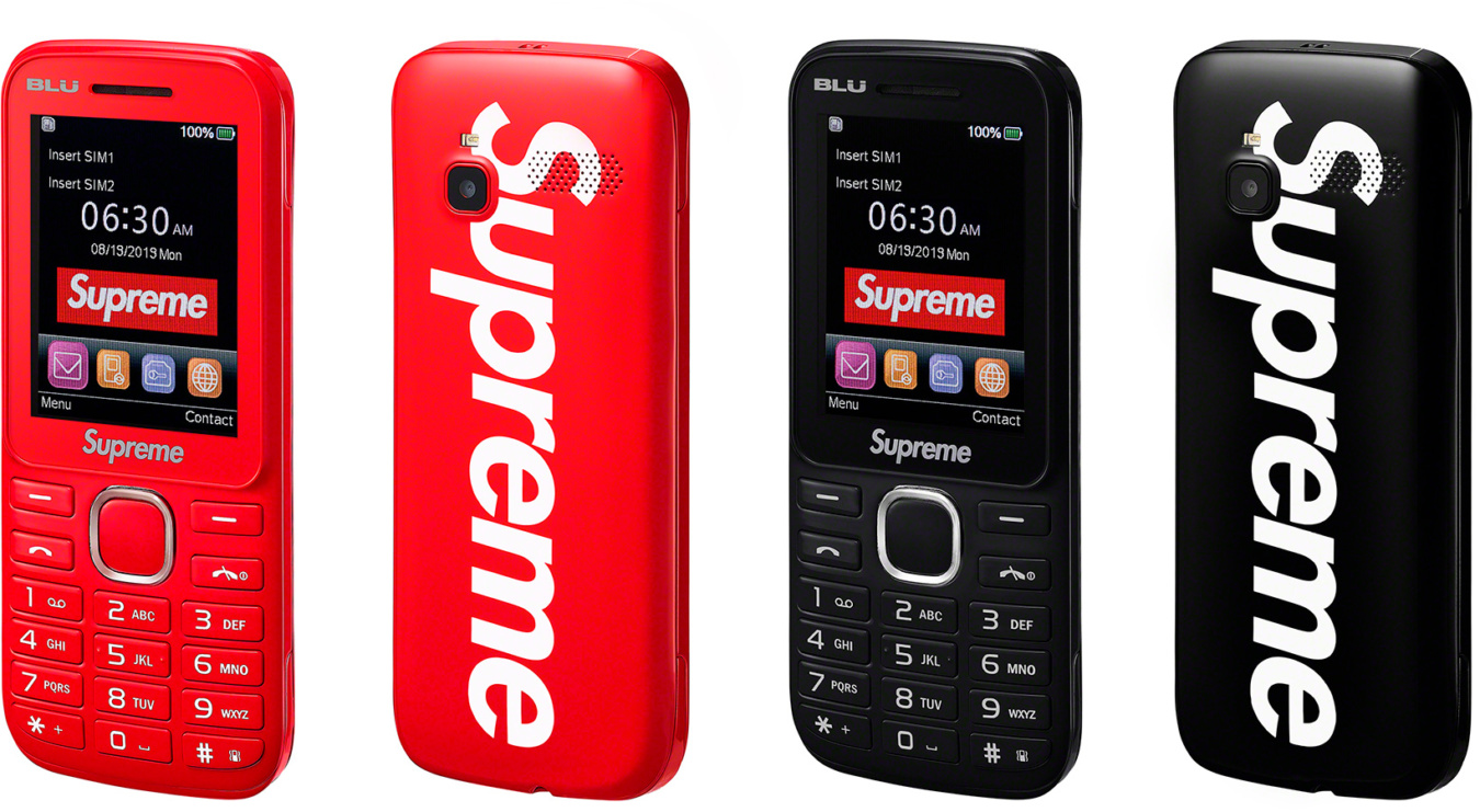 Supreme's 3G burner phone goes on sale August 22nd