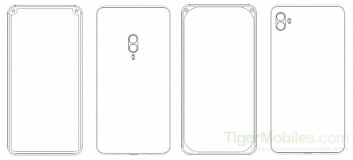 Xiaomi phone patent ditches the notch for selfie cameras crammed into corner bezels