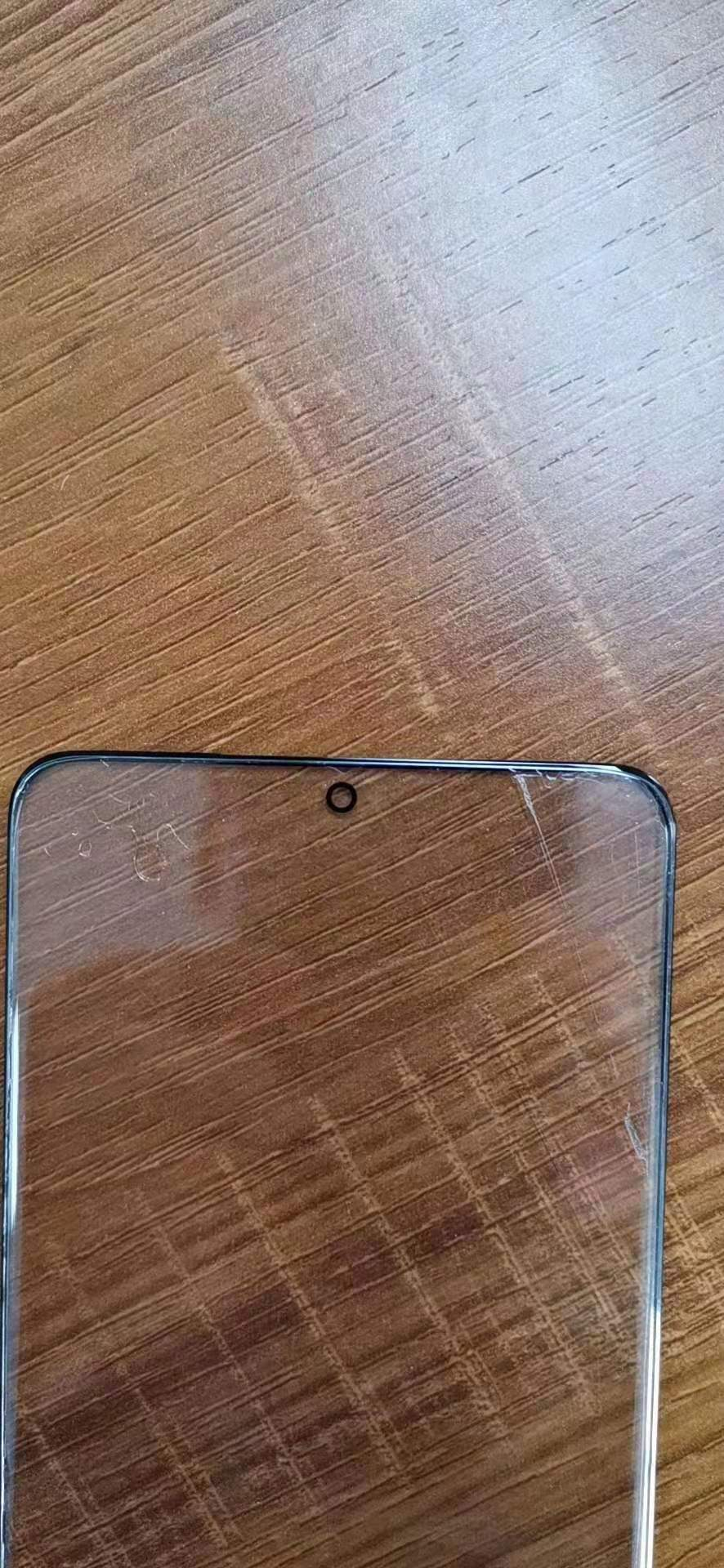 Galaxy S11's glass screen has leaked, showing smaller bezels and hole punch - TalkAndroid