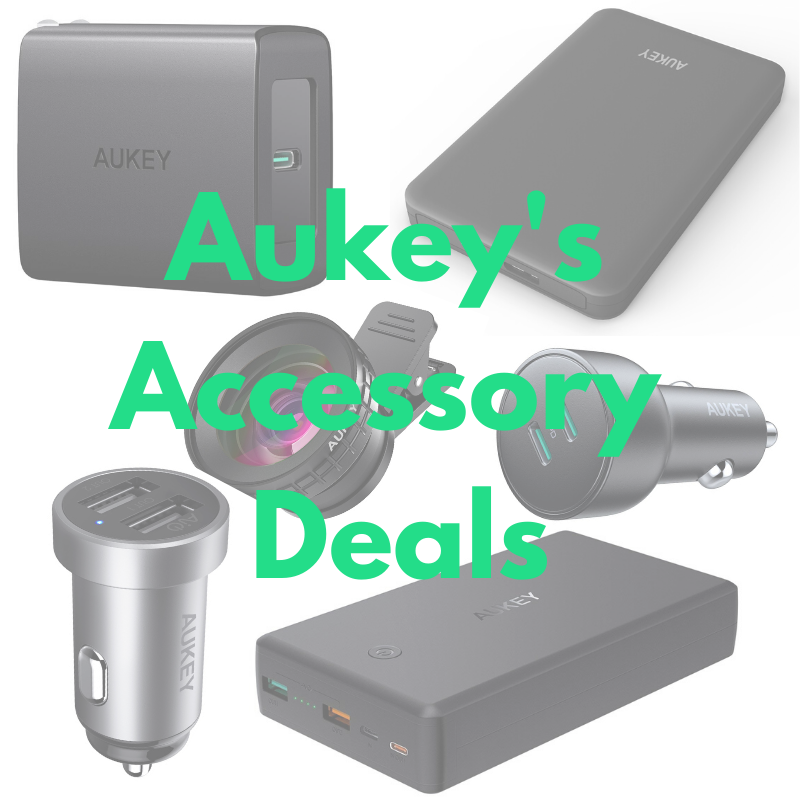 [Deal] Shake off those January blues with these discounted accessories from Aukey