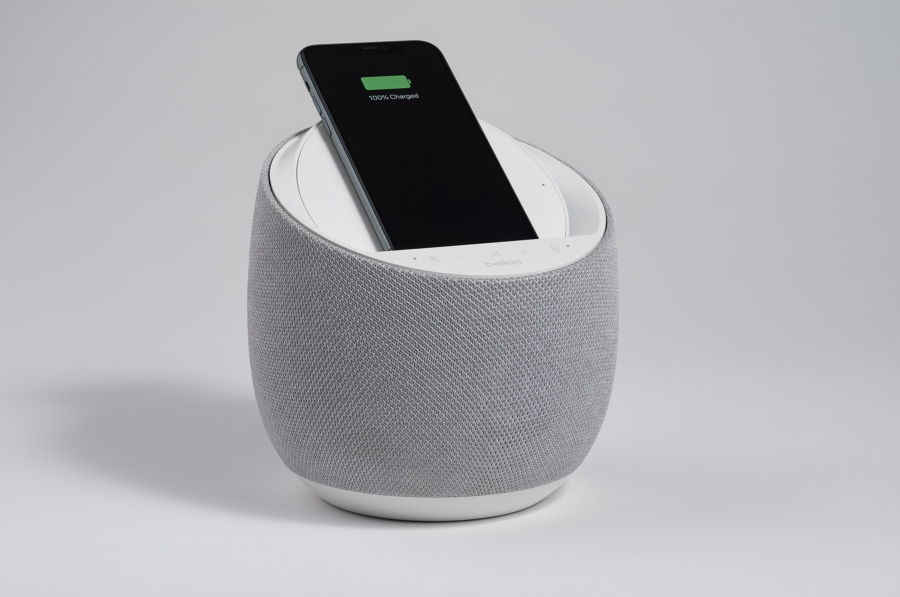 Belkin's SoundForm Elite is a Wireless Charger with Google Assistant smarts