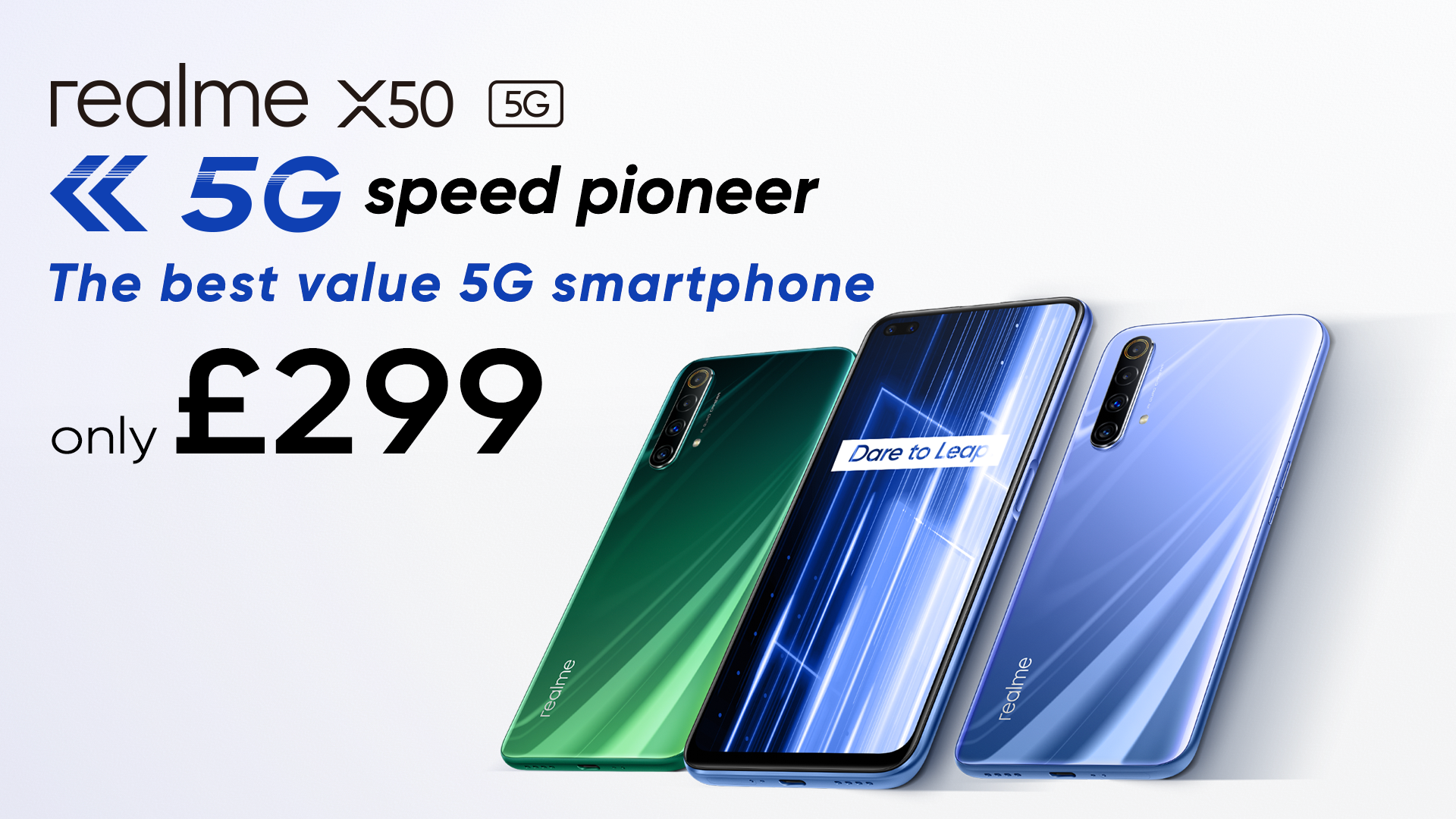 The Realme X50 5G is official - comes with 120Hz display, Snapdragon 765G SoC, and 30W charging for just €349/£299 - TalkAndroid.com